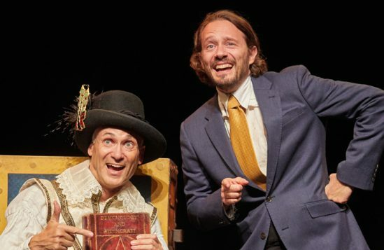Barmy Britain Part 4 by Birmingham Stage Company-7- Neal Foster and Anthony Spargo - Photo by Mark Douet.