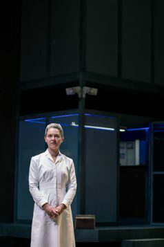 Jenny Livsey as Nurse Ratched in One Flew Over the Cuckoo's Nest. Photo by Sam Taylor. (1)