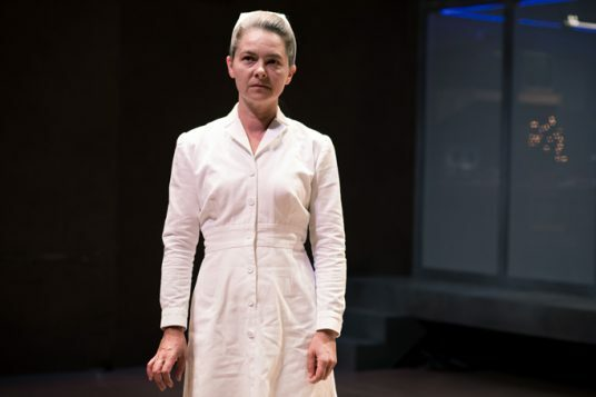 Jenny Livsey as Nurse Ratched in One Flew over the Cuckoo's Nest. Photo by Sam Taylor.