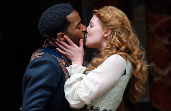 Andre holland jessica warbeck othello globe c simon annand