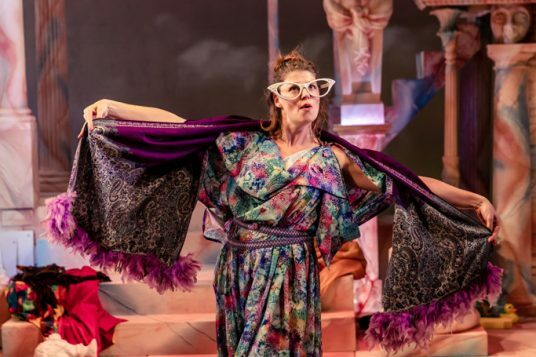 Elizabeth Boag in Nuffield Southampton Theatres (NST) production