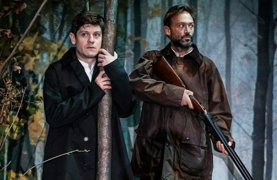 Iwan-Rheon-and-Paul-Nicholls-in-Foxfinder.-Credit-Pamela-Raith
