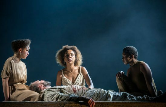 Georgia-Landers,-Ralph-Fiennes,--Sophie-Okonedo,-Gloria-Obianyo-in-Antony-&-Cleopatra