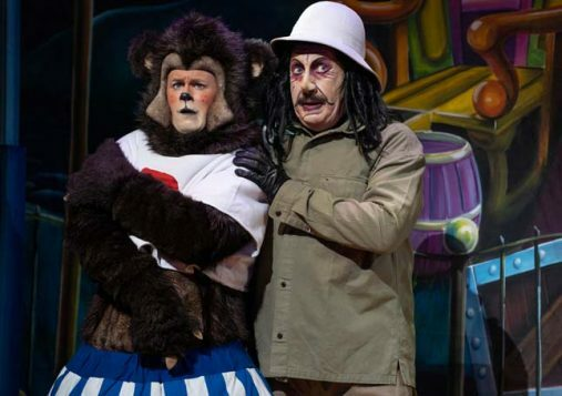 Goldilocks and the Three Bears - Theatre Royal Newcastle - Reece Sibbald & Steve Arnott - Credit Paul Coltas