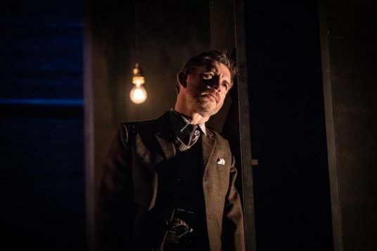 Lee Evans in Pinter Three. Photo credit Marc Brenner.Pinter Three PROD TECH-252
