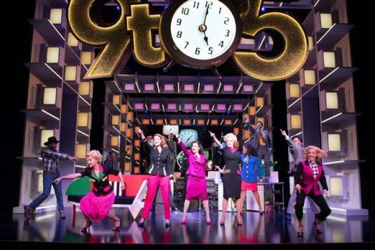 9-TO-5-THE-MUSICAL.-Caroline-Sheen-Violet-Newstead-Amber-Davies-Judy-Bernly-Natalie-McQueen-Doralee-Rhodes-and-company.-Photo-Craig-Sugden-21