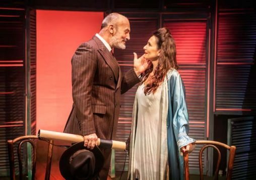 Jerome Pradon and Madalena Alberto in ASPECTS OF LOVE credit Pamela Raith
