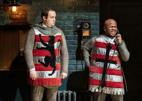 Joel Montague and Delroy Atkinson as The Gangsters. Photo by Manuel Harlan.-min
