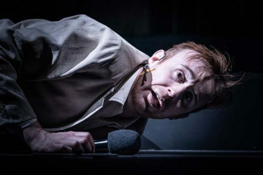 John Heffernan in Pinter Seven. Photo credit Marc Brenner,,