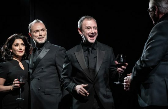 l-r-Tracy-Ann-Oberman,-Gary-Kemp,-John-Simm-and-Phil-Davis-in-Pinter-Six.--Photo-Credit-Marc-Brenner