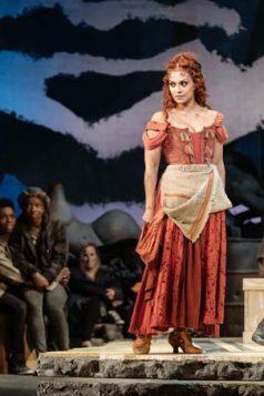 Danielle de Niese (Aldonza and Dulcinea) in Man of La Manch