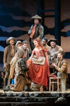 Danielle de Niese and Man of La Mancha Company by Manuel Harlan