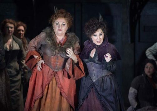 'Jack the Ripper: The Women of Whitechapel' Opera by Iain Bell performed by English National Opera at the London Coliseum, UK