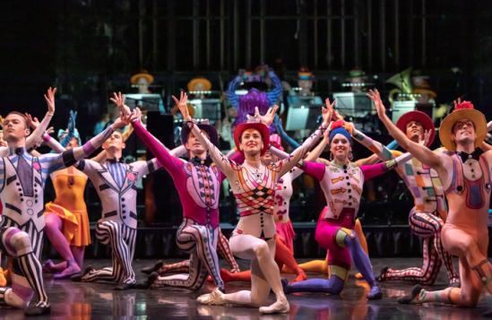 Scottish-Ballet-dancer-in-Sir-Kenneth-MacMillan's-Elite-Syncopations,-part-of-Scottish-Ballet's-Spring!