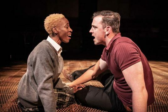 Sweeney Todd at the Everyman - Keziah Joseph and Bryan Parry. Photo by Marc Brenner 1519