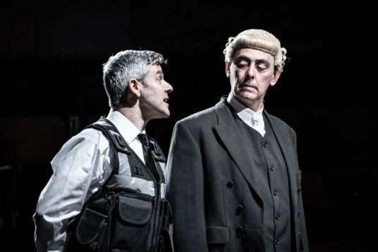 Sweeney Todd at the Everyman - Mark Rice-Oxley and Paul Duckworth. Photo by Marc Brenner 287