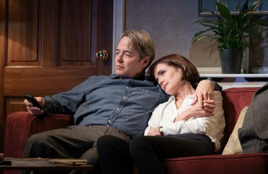 Matthew Broderick, Elizabeth McGovern in Starry Messenger by Marc Brenner