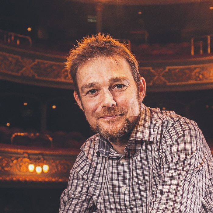 David Greig, artistic director of the Lyceum. Photo by Aly Wight