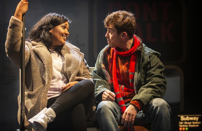Tori Allen-Martin, Alex Cardall in The Season. Photo: Pamela Raith