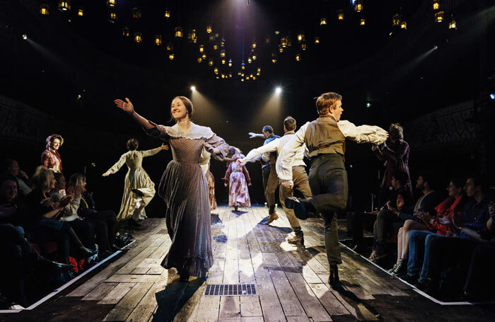 The Old Vic's 2017 production of A Christmas Carol is transferring to Broadway. Photo: Manuel Harlan