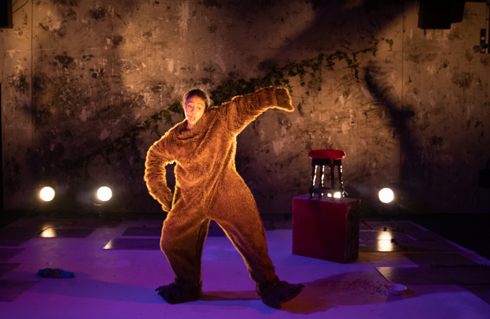 Jacoba Williams in Before I Was a Bear at the Bunker. Photo: Tara Rooney
