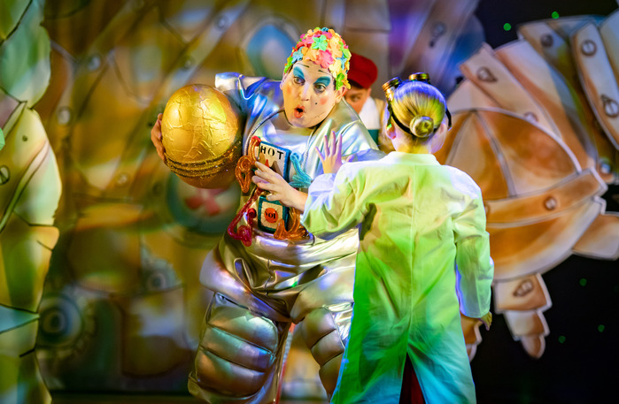 Richard J Fletcher in Jack and the Beanstalk at Oldham Coliseum Theatre