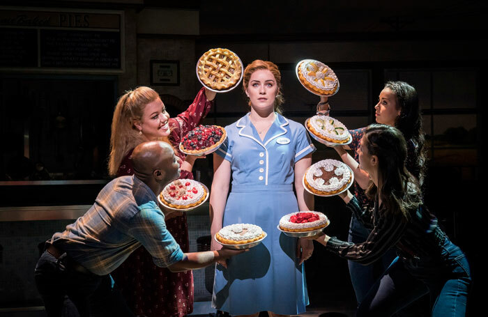 Lucie Jones is currently starring in Waitress at the Adelphi. Photo: Johan Persson