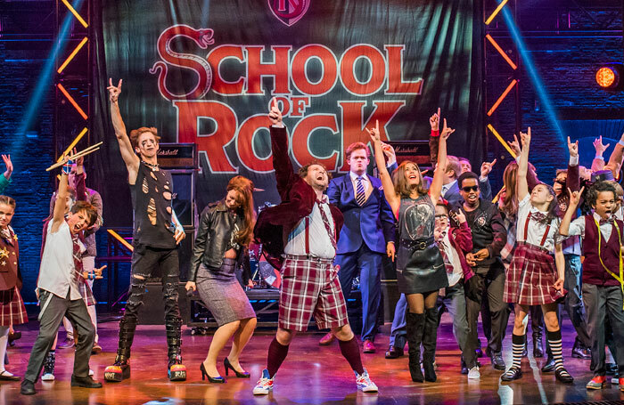 The Gillian Lynne Theatre, where School of Rock is currently playing, is part of the new ticketing partnership. Photo: Tristram Kenton