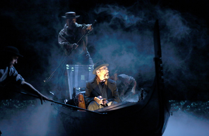 Gerald Finley and Mark Padmore in Death in Venice at London's Royal Opera House. Photo: Catherine Ashmore
