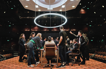 National Theatre careers day opens up prospects for students