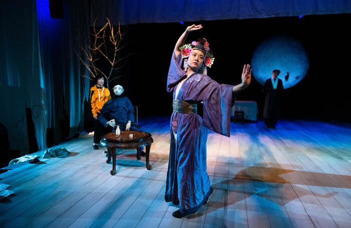 Luna Dai in Strange Tales at Traverse Theatre, Edinburgh. Photo: Tommy Ga-Ken Wan