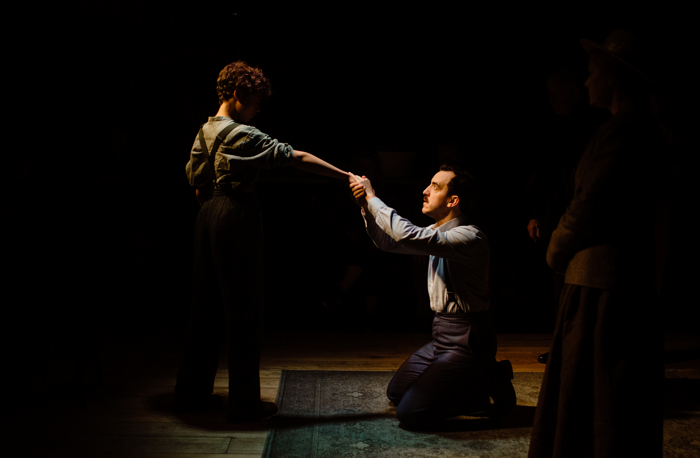 Bruno Ben Tovim and Jamie Wilkes in The Wind of Heaven at Finborough Theatre. Photo: Stefan Hanegraaf