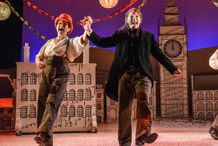 A Christmas Carol at Theatre by the Lake, Keswick. Photo: Robert Day