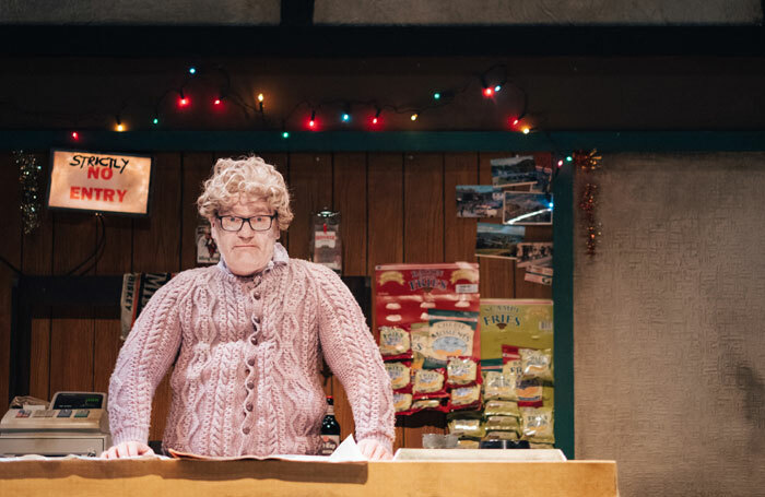 Conor Grimes in Driving Home for Christmas at Belfast's Lyric Theatre. Photo: Johnny Frazer