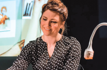 Oily Cart artistic director Ellie Griffiths: 'I like theatre that plays with the actor/audience relationship'