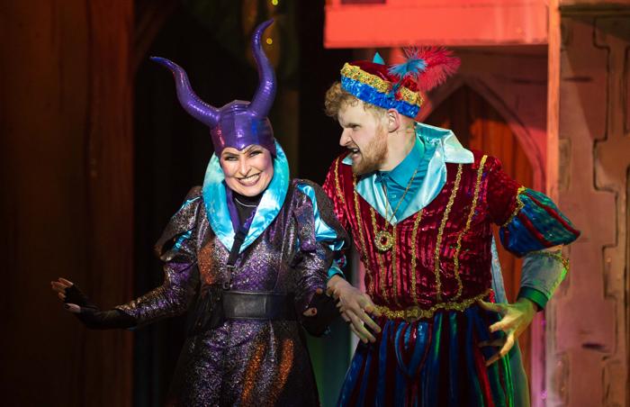 Georgina Field and Lawrence Cole in Robin Hood. Photo: Mark Sepple