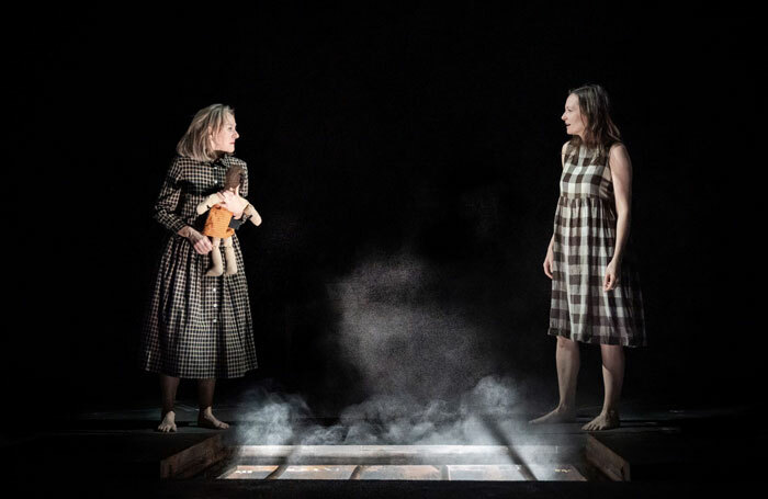 Niamh Cusack and Catherine McCormack in My Brilliant Friend at London's National Theatre. Photo: Marc Brenner
