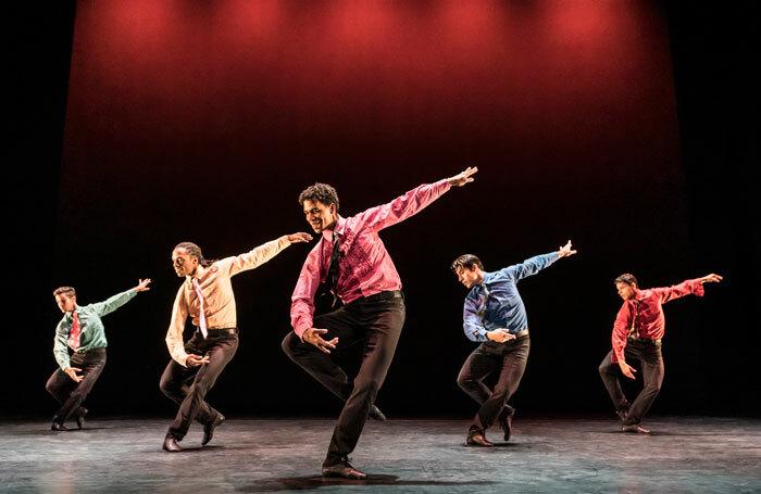 Carlos Acosta in Acosta Danza's Evolution at Sadler's Wells in London. Photo: Johan Persson