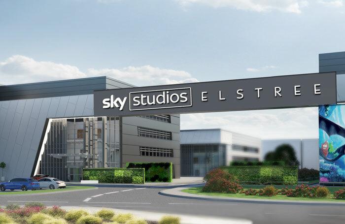 Artist's impression of Sky Studios Elstree