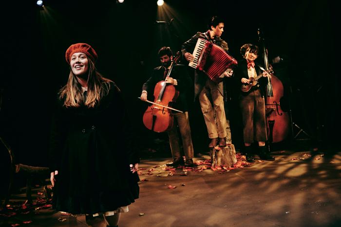 The cast of Snow White at Tobacco Factory Theatres, Bristol. Photo: Mark Dawson