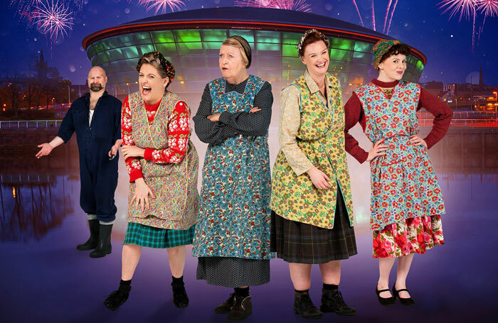 The 2019 cast of The Steamie at SSE Hydro, Glasgow