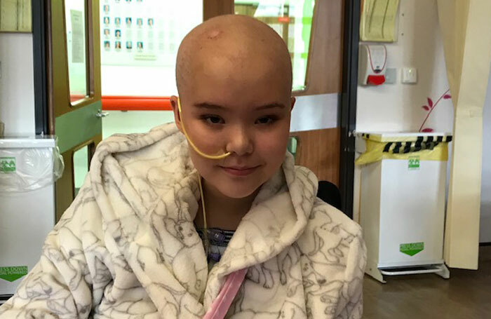 Sophia Keaveney, who appeared in the West End's Matilda, underwent surgery three times for a brain tumour