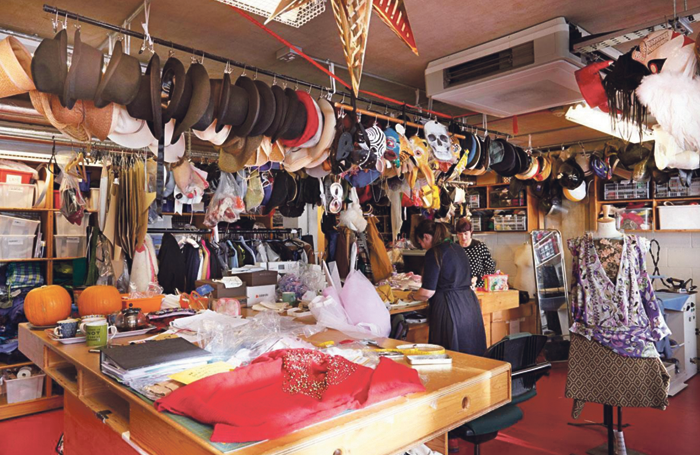Young Vic costume department – work has dried up, but not all workers are getting a fair deal