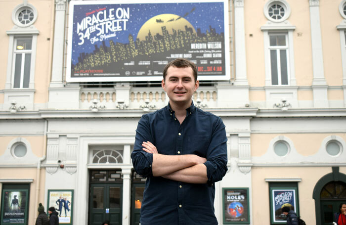 Musical director George Francis at the Liverpool Playhouse
