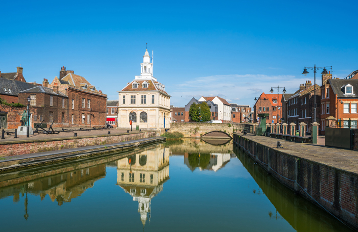 Kings Lynn where the new theatre will be. Photo: Shutterstock