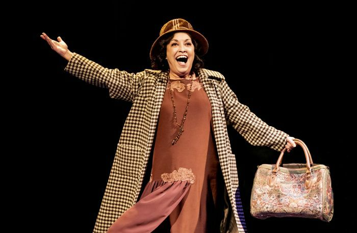 Ria Jones in Gypsy at Royal Exchange Theatre, Manchester. Photo: Johan Persson