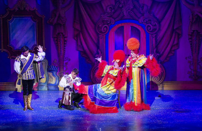 Cinderella at Theatre Royal, Nottingham. Photo: Whitefoot Photography