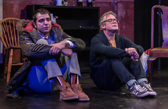 Nebli Basani and Paul McCole in I Can Go Anywhere at the Traverse Theatre. Photo: Lara Cappelli