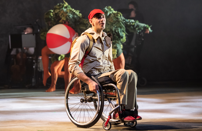 Joel Brown in The Lost Thing at the Royal Opera House, London. Photo: Stephen Wright