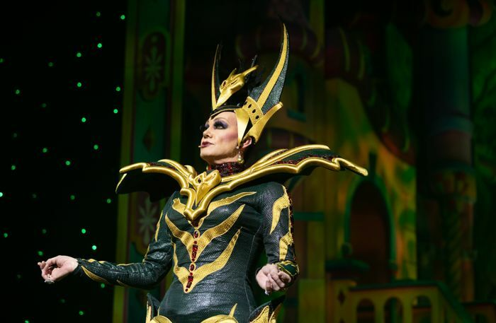 Craig Revel Horwood in Snow White and the Seven Dwarfs at Manchester Opera House. Photo: Phil Tragen